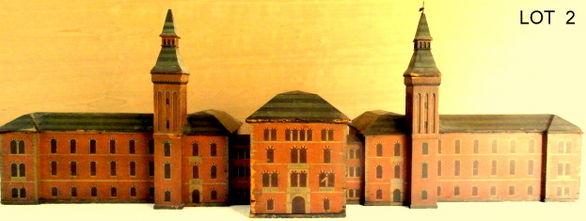 R.I. HOSPITAL ARCHIETECTS MODEL 1863